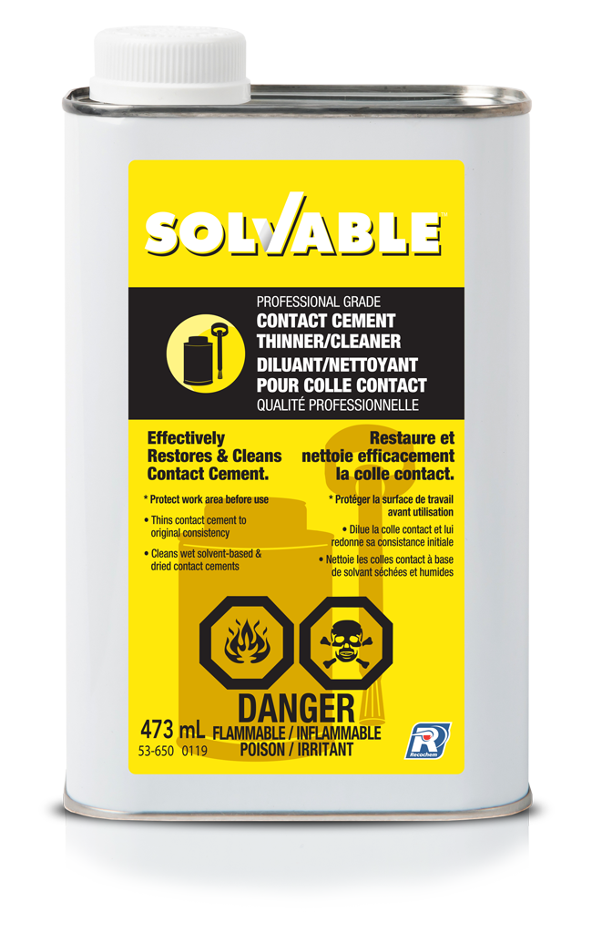 Solvable - Contact Cement Thinner/Cleaner