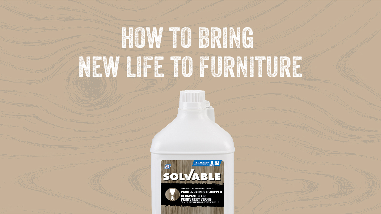 How to bring new life to furniture